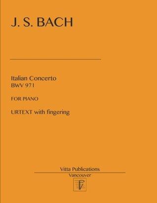 Italian Concerto: Urtext with fingering