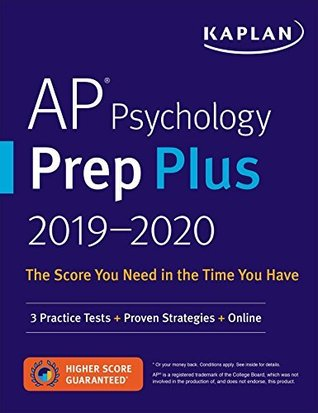 AP Psychology Prep Plus 2019-2020: 3 Practice Tests + Study Plans + Targeted Review & Practice + Online