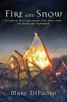 Fire and Snow: Climate Fiction from the Inklings to Game of Thrones