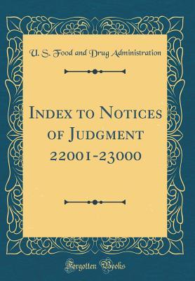 Index to Notices of Judgment 22001-23000