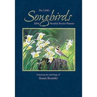 Songbirds 2014 Monthly Pocket Planner