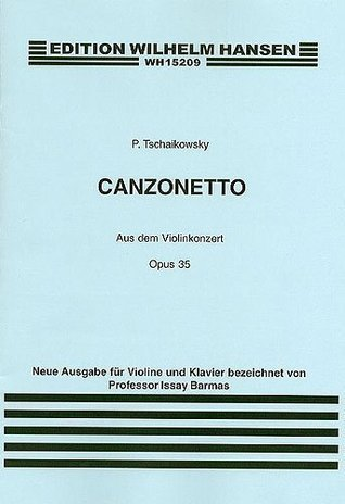 Tchaikovsky: Canzonetta From Violin Concerto In D Op.35