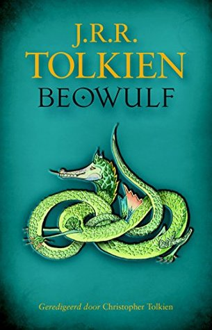 Beowulf, translated by Tolkien, cover (Goodreads)