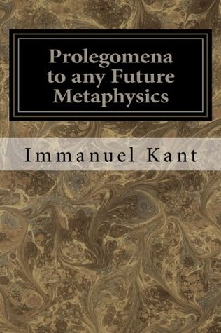 kants prolegomena essay Most—but not all—of the religious epistemology that is of note in kant's prolegomena to any future metaphysics is already contained in essays immanuel kant.