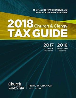 2018 Church & Clergy Tax Guide