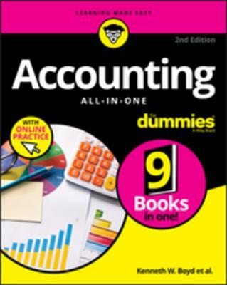 Accounting All-In-One for Dummies, with Online Practice