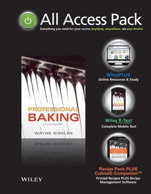 All Access Pack for Professional Baking 6th Edition Set