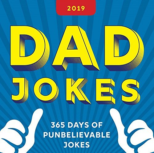 2019 Dad Jokes Boxed Calendar: 365 Days of Punbelievable Jokes