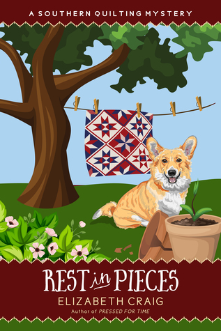 Rest in Pieces (Southern Quilting Mystery, #9)