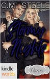 Stormy Nights (Passion, Vows & Babies Kindle Worlds; The Knight Brothers Book 2)