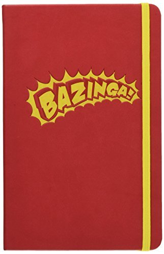 The Big Bang Theory Hardcover Ruled Journal