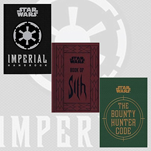 Star Wars Series Daniel Wallace Collection 3 Books Bundle with Gift Journal (The Imperial Handbook, The Bounty Hunter Code, Book of Sith)