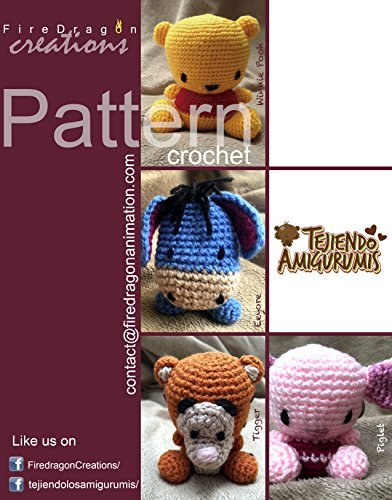 Magic Hands Pattern Collection V.2: Winnie Pooh Set