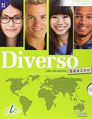 Diverso Basico : Level A1+A2: Curso de Espanol para Jovenes