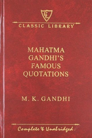 Mahatma Gandhi's Famous Quotations
