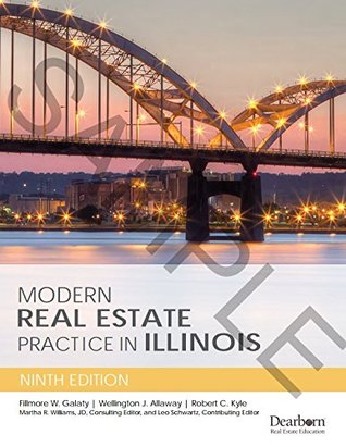 Modern Real Estate Practice in Illinois 9th Edition