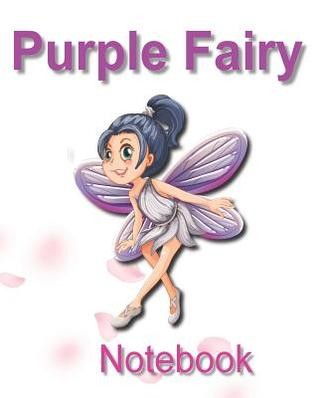 Purple Fairy Notebook: Do You Believe in the Magic?