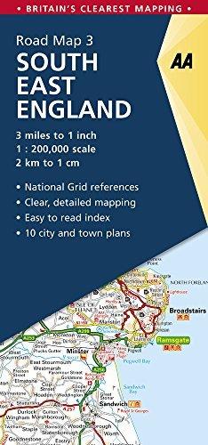South East England Road Map: South East England 3.