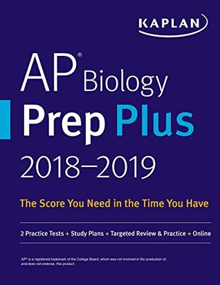 AP Biology Prep Plus 2018-2019: 2 Practice Tests + Study Plans + Targeted Review & Practice + Online