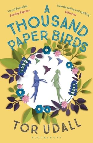 Risultati immagini per a thousand paper birds tor udall goodreads