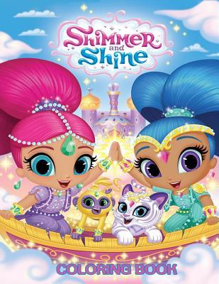 Shimmer and Shine Coloring Book: Coloring Book for Kids and Adults with Fun, Easy, and Relaxing Coloring Pages
