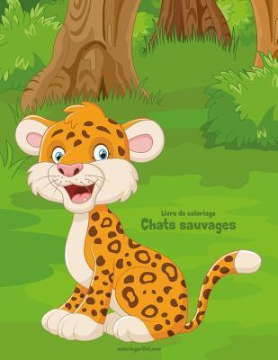 Livre de Coloriage Chats Sauvages 1 & 2