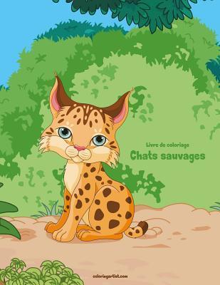 Livre de Coloriage Chats Sauvages 1