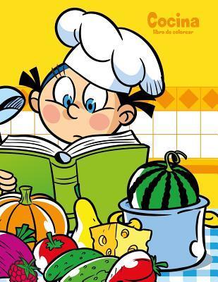 Cocina Libro de Colorear 1 por Nick Snels