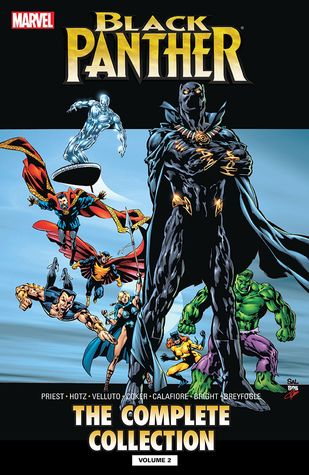 fcc4cf959 Black Panther by Christopher Priest: The Complete Collection, Vol. 2 ...