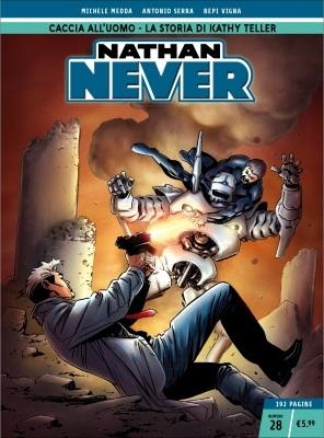 Nathan Never n. 28: Caccia all'uomo - La storia di Kathy Teller
