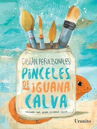 Pinceles de iguana calva