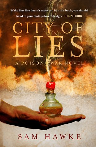 City of Lies (Poison Wars, #1)