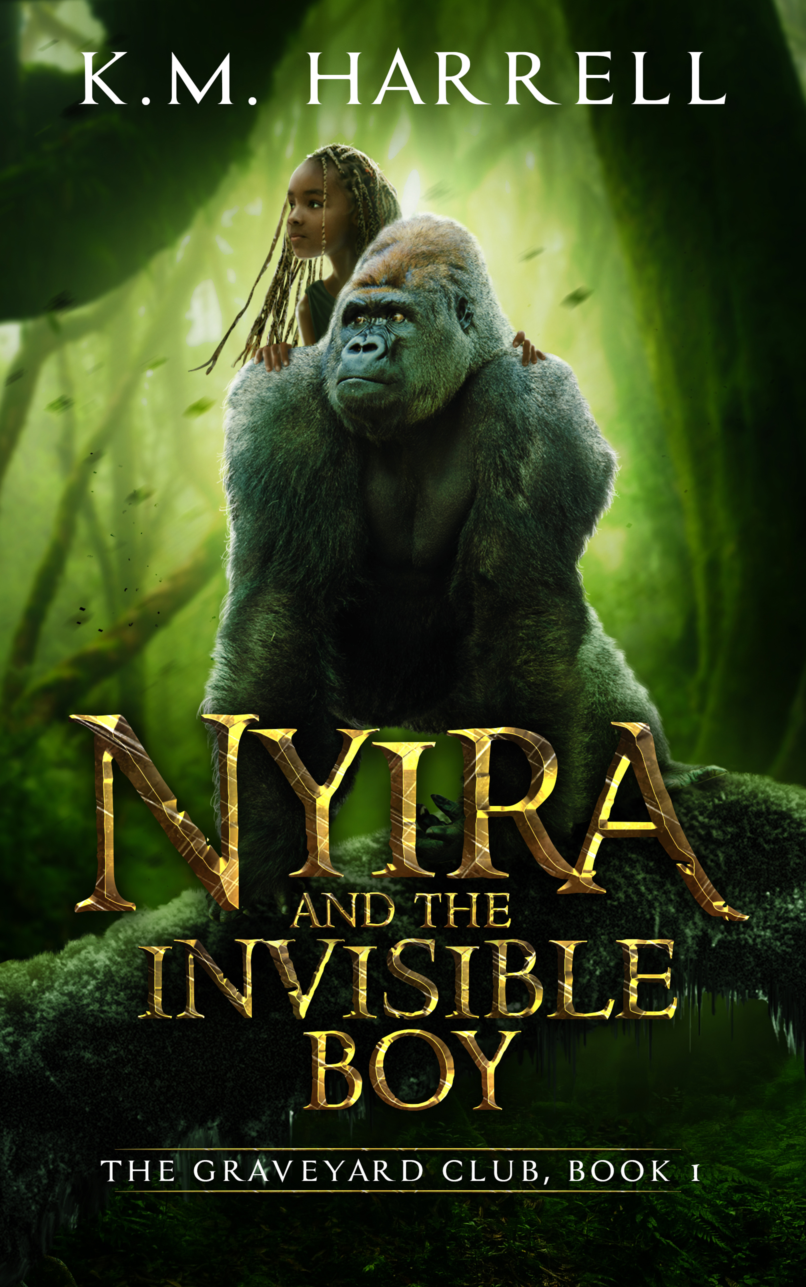 Nyira and the Invisible Boy (The Graveyard Club #1)