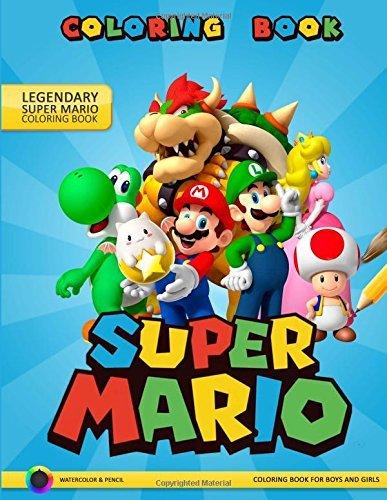Super Mario Coloring Book: Adventures of Super Mario