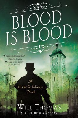 Blood Is Blood (Barker & Llewelyn, #10)