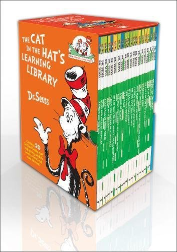 The Cat In The Hat's Learning Library by Dr. Seuss 20 Book Boxset