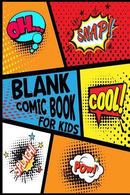 Blank Comic Book for Kids: Create Your Own Comic Book Strip, Variety of Templates for Comic Book Drawing - Notebook and Sketchbook for Kids and Adults to Draw Comics and Journal Over 100 Pages (Super Hero Comics)-[professional Binding]