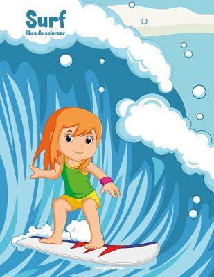 Surf Libro de Colorear 1 por Nick Snels