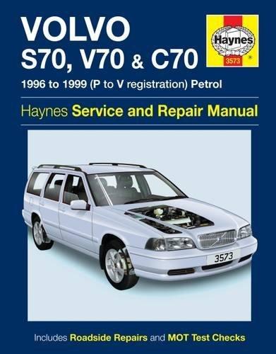 Volvo S70, V70 & C70 Petrol (96 - 99) Haynes Repair Manual
