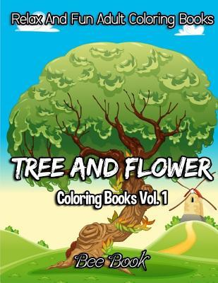 Tree and Flower Coloring Books Vol. 1