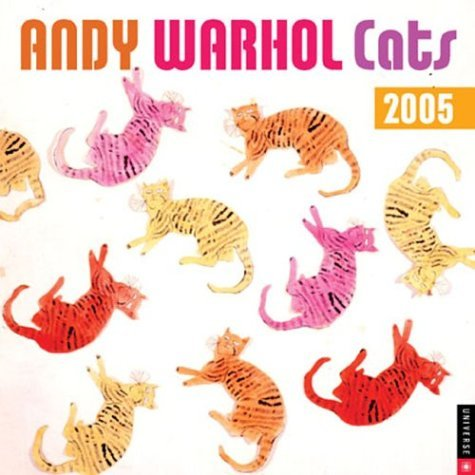 Andy Warhol Cats: 2005 Wall Calendar