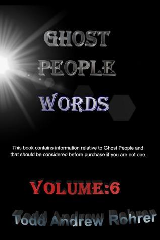 Ghost People Words Volume:6