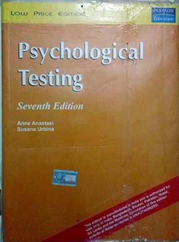 Psychological Testing 7e