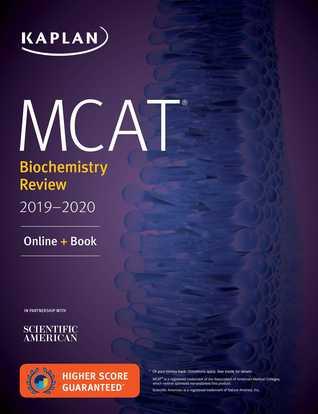 MCAT Biochemistry Review 2019-2020: Online + Book