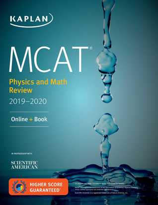 MCAT Physics and Math Review 2019-2020: Online + Book