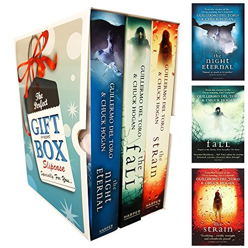 Strain Trilogy Series Guillermo del Toro Collection 3 Books Bundle Gift Wrapped Slipcase Specially For You
