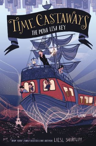 The Mona Lisa Key (Time Castaways, #1)