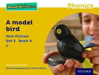 Read Write Inc. Phonics: Yellow Set 5 Non-fiction 4 A Model Bird