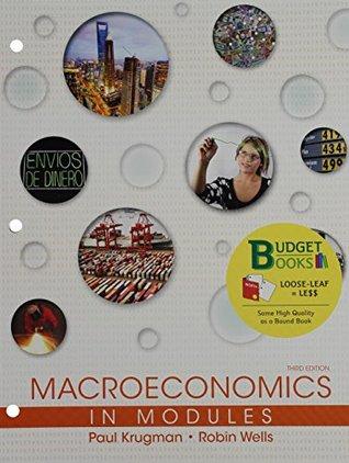 Macroeconomics in modules by paul krugman fandeluxe Choice Image