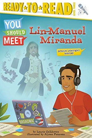 Lin-Manuel Miranda by Laurie Calkhoven